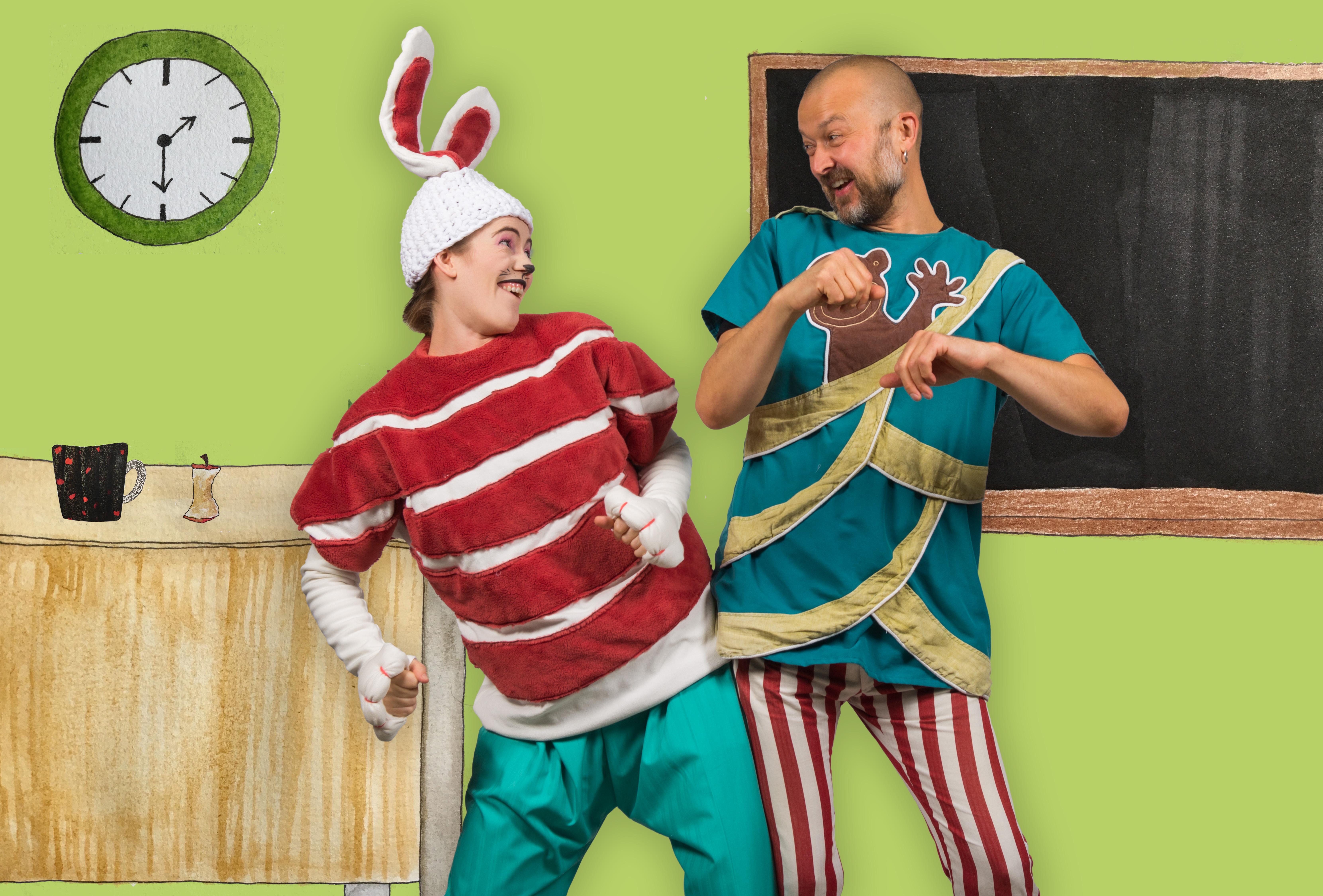 Hyppeliini & Anders Apina: Mahtava mysteeri!