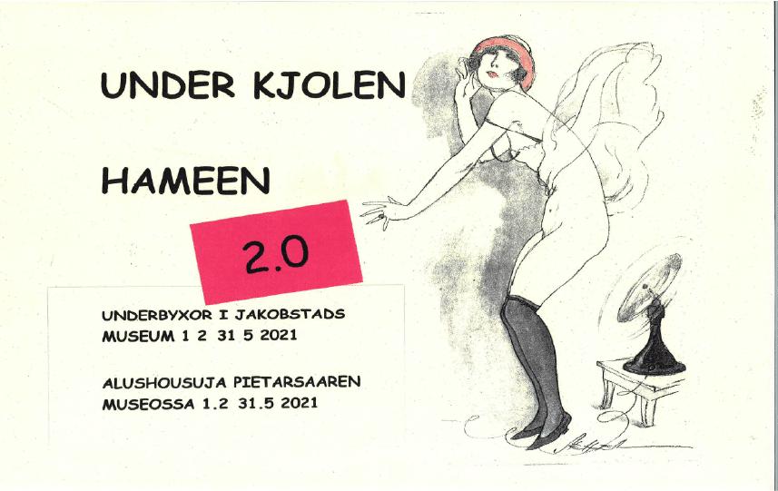 """Utställning i Malmska gården: """"UNDER KJOLEN 2.0"""""""